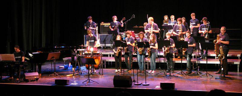 Die Band, fotografiert von Peter Linden