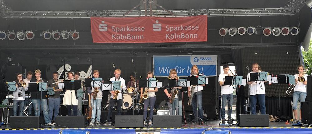 Brassrock auf dem Beuzeler Promenadenfest 2014