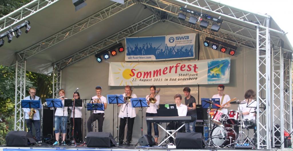 Brassrock auf dem Giodesberger Sommerfest 2015