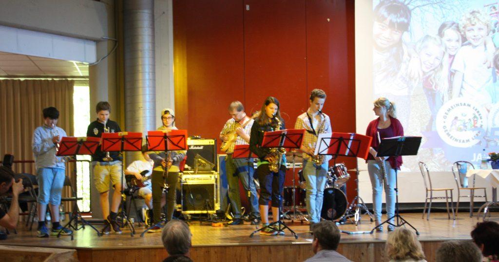 Brassrock- Big Band der elisabetrh-Selbert-Gesamtschule