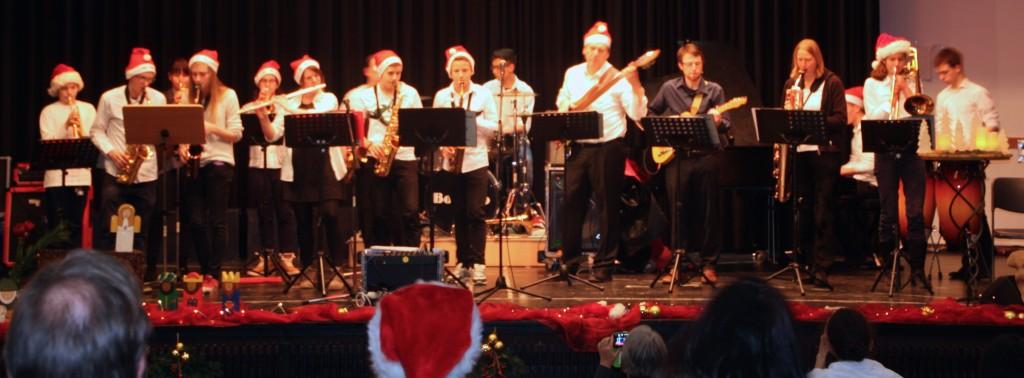 Brassrock in der Neubesetzung 2014 Foto: Orchester
